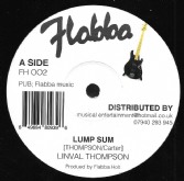 Linval Thompson - Lump Sum / Some Dub / Wa Di Is Free (Flabba) 12""